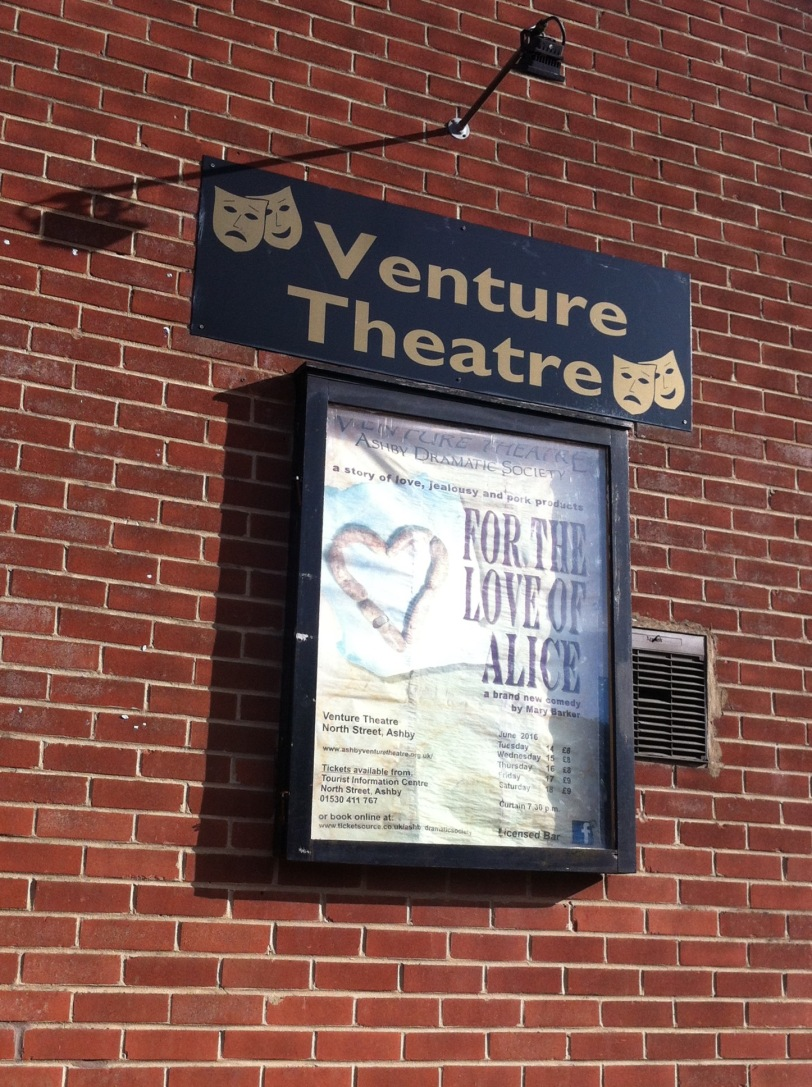 Venture Theatre  community theatre in the heart of North West Leicestershire Paul Conneally