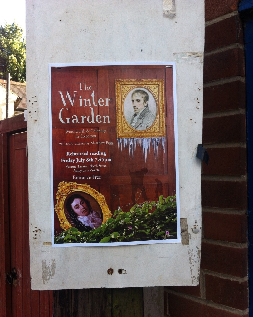poster The Winter Garden Wordswoth and Coleridge at Coleorton Hall