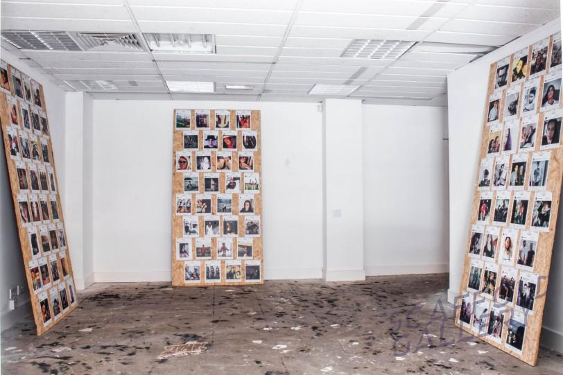 Scaffold Gallery Manchester - Paul Conneally - '96 Tears' installation art