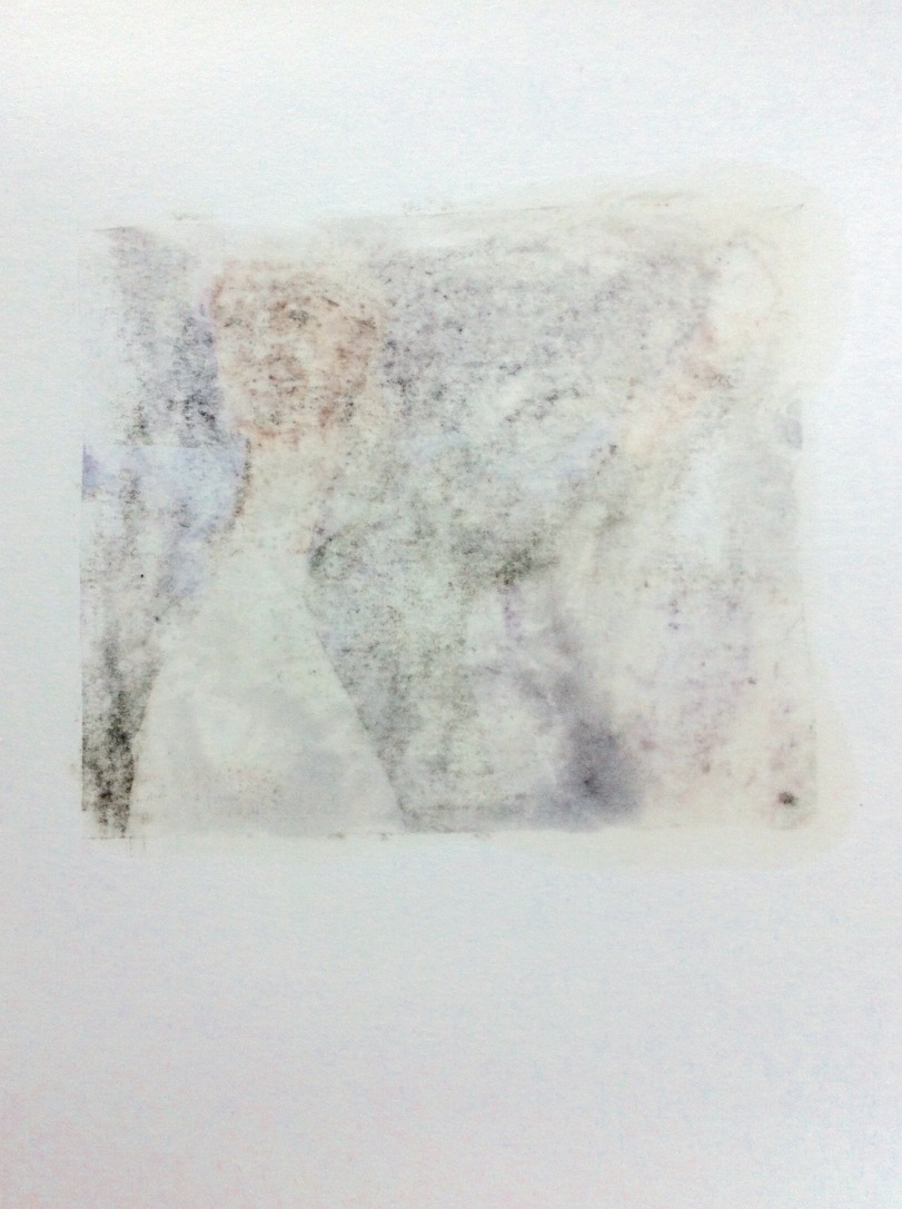 BY ANY OTHER NAME - political Monoprint by Paul Conneally featuring Marine Le Pen